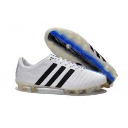 Nouveau Crampons Foot Adidas 11Pro FG Pas Cher Blanc Bleu Noir