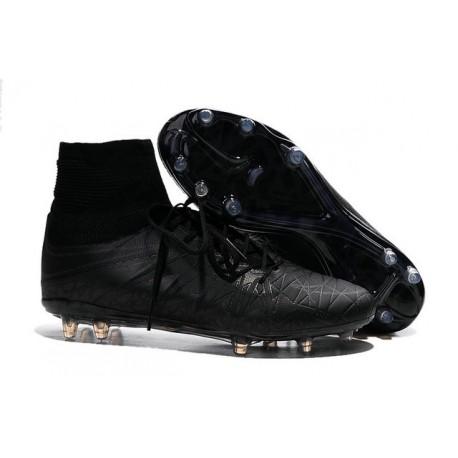 Hommes Nike HyperVenom Phantom II Réfléchissant FG Chaussures de football ACC Noir