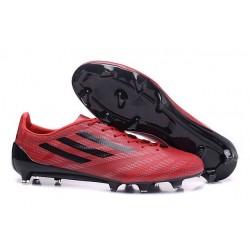 Chaussures de Foot Adidas F50 adizero Messi FG Rouge Noir