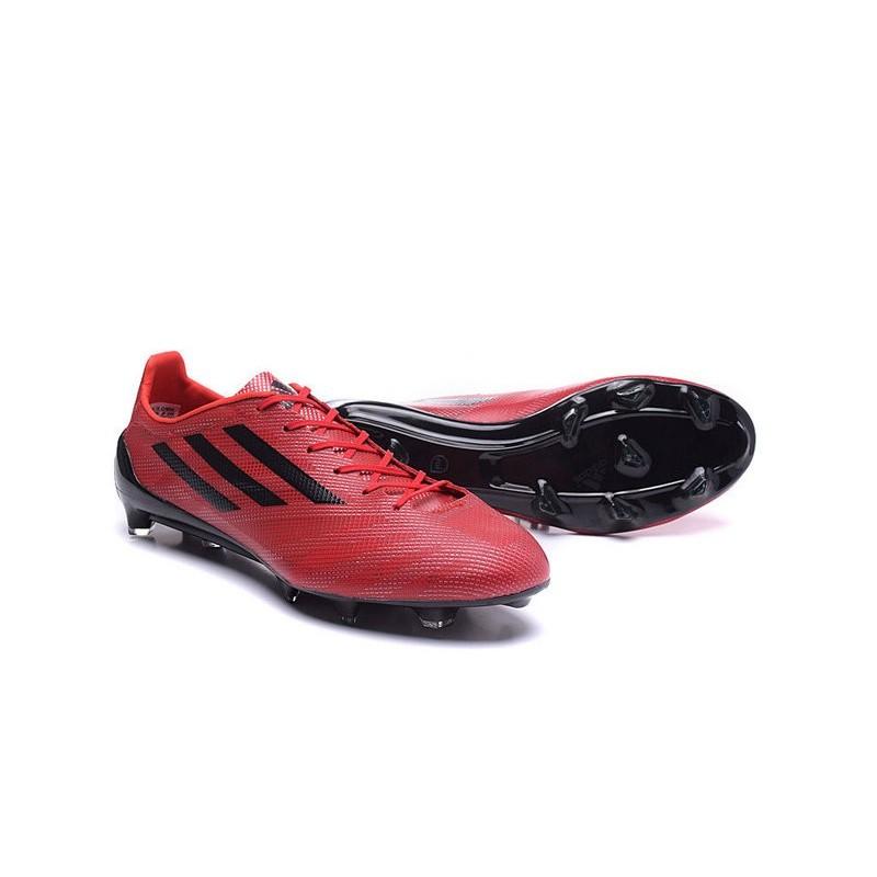 Rouge Foot Chaussures F50 Adidas De Fg Noir Adizero Messi JcK1TlF
