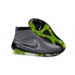 Nouvelle Homme Cramspon de Foot Nike Magista Obra FG Gris Noir Vert