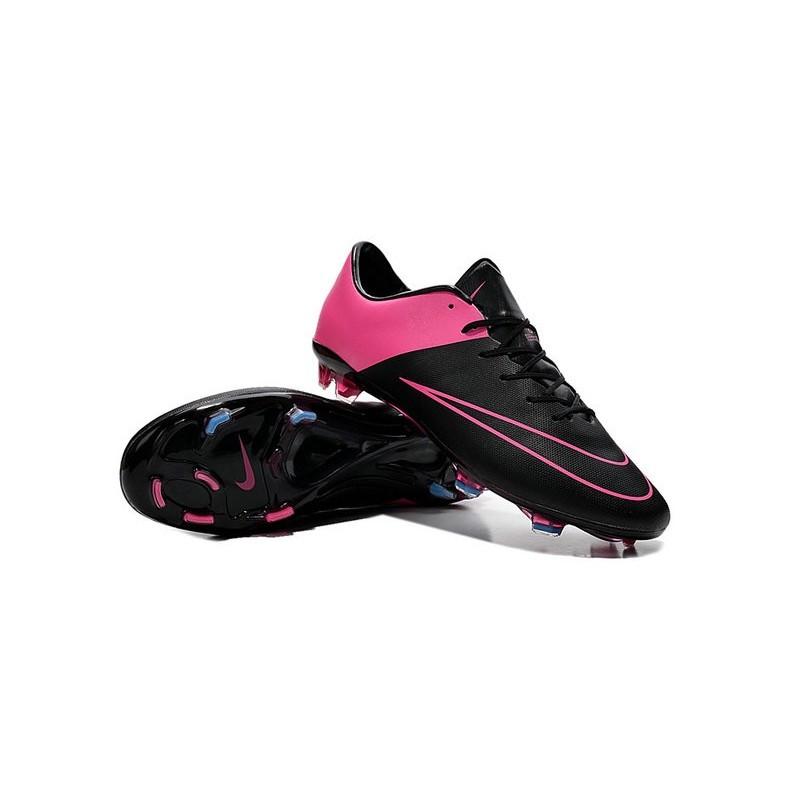 Hyper Nike Noir Rose FG 10 Chaussures Football Mercurial Vapor de E08q4