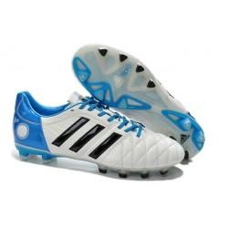 Chaussures De Foot Adidas Adipure 11Pro TRX FG Noir Blanc Bleu