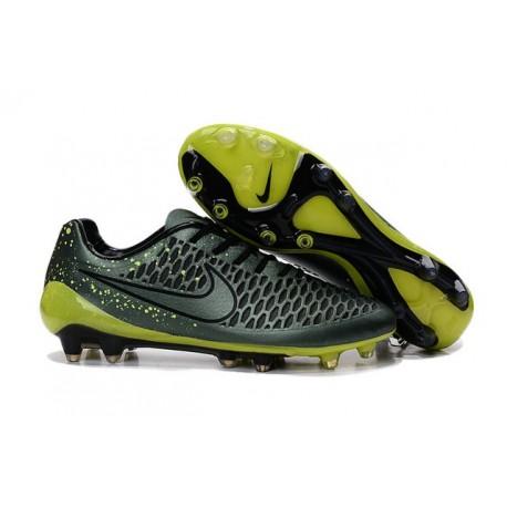 Nouvelle Crampons Nike Magista Opus FG Cédrat Volt Noir