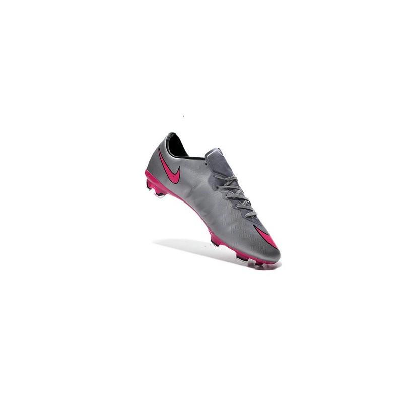 cheapest price best wholesaler size 40 Chaussures de Football Nike Mercurial Vapor 10 FG Gris Loup ...
