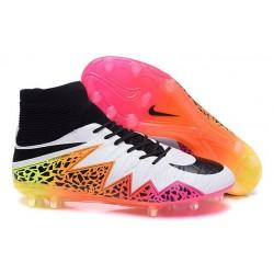 Hommes Nike HyperVenom Phantom II FG Chaussures de football ACC Blanc Orange Rose Noir