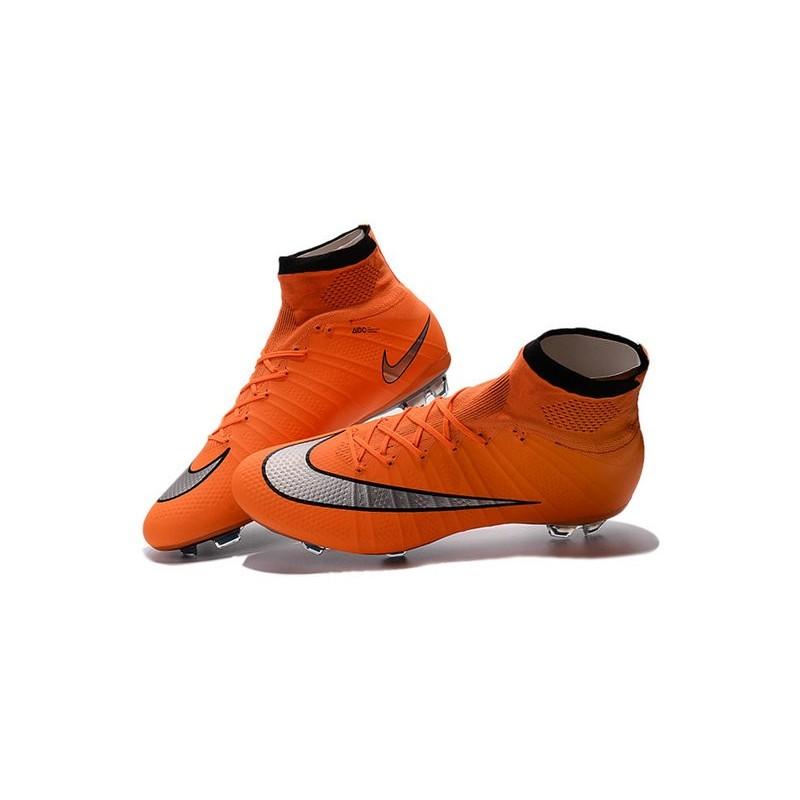 Superfly Argenté Fg Orange Football Noir 2016 Mercurial Chaussures Homme xIwz7nqRS