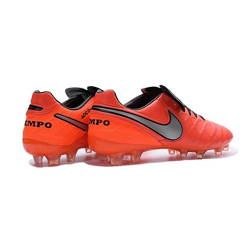 Tiempo De Football Legend 6 Noir Gris 2016 Fg Nike Chaussures Orange c5RLA4qS3j