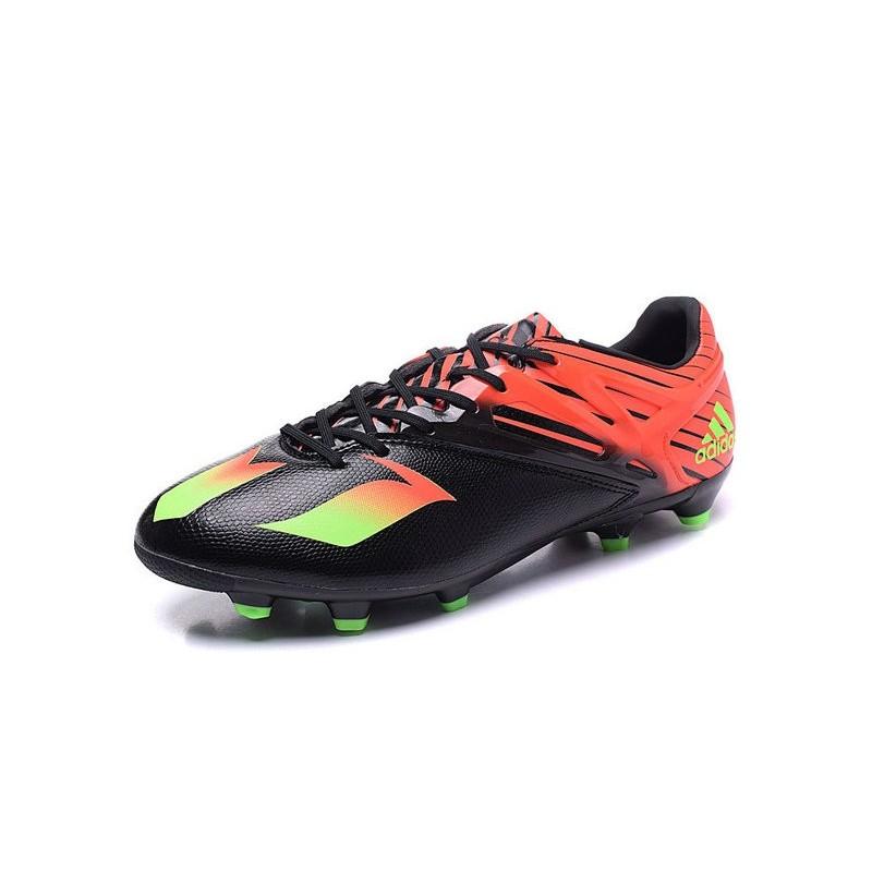Noir 1 Messi Chaussures Adidas 15 2016 Vert Rouge De Football Fg cw6qPnZ8