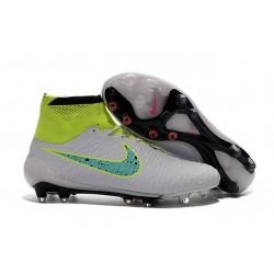 Nouvelle Homme Cramspon de Foot Nike Magista Obra FG Blanc Volt Vert Noir