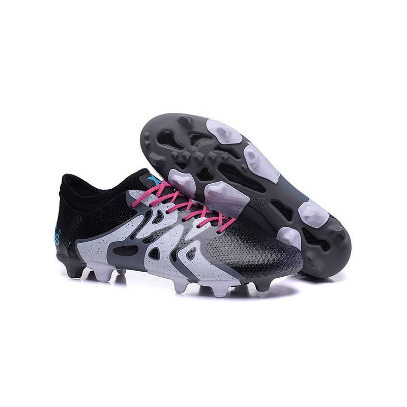 nouvelles adidas chaussures de foot x15 primeknit fg ag noir blanc bleu rose. Black Bedroom Furniture Sets. Home Design Ideas