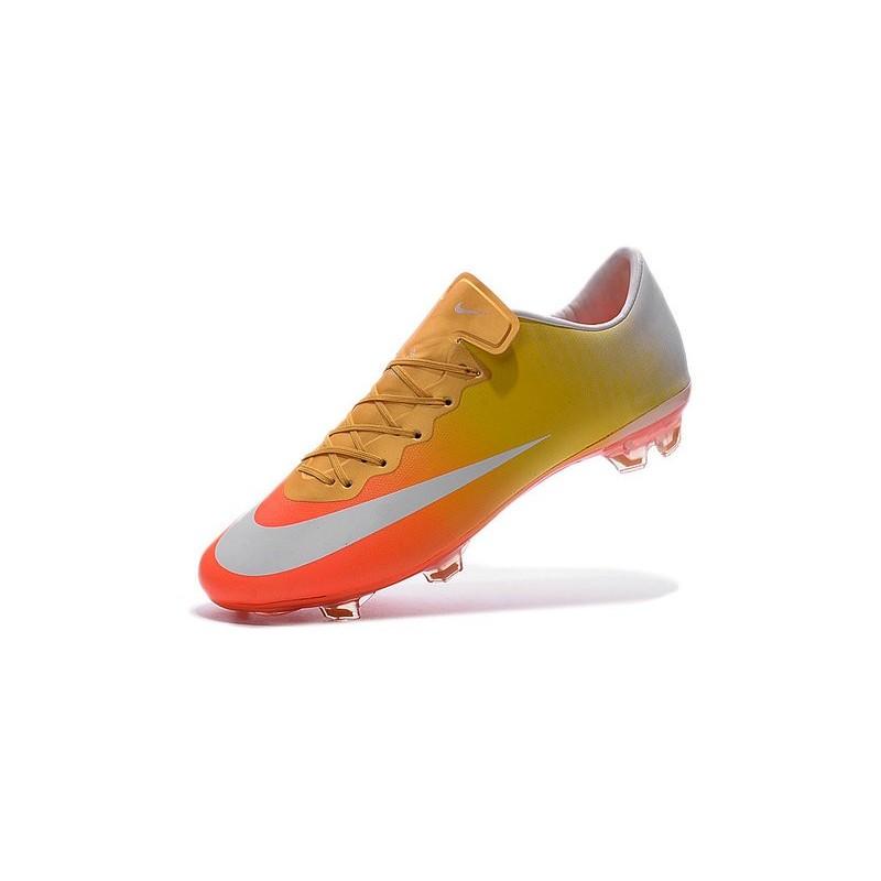 regard détaillé 2c12e 907df nike mercurial orange et jaune,Nike Mercurial Superfly Fg ...