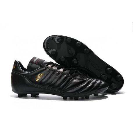 Crampon Foot - adidas Copa Mundial -Terrain Souple - Chaussure Homme Noir Or
