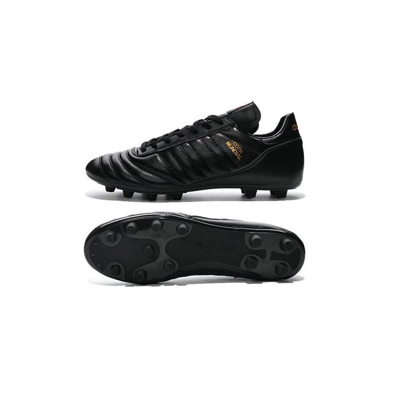 quality design 91c79 36fde Crampon Foot - adidas Copa Mundial -Terrain Souple - Chaussure Homme Noir Or