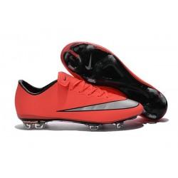 Chaussures de Football Nike Mercurial Vapor 10 FG Mangue Argent Turquoise