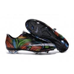 Chaussures de Football Nike Mercurial Vapor 10 FG Noir Blanc Vert Bleu Orange Rose Jaune