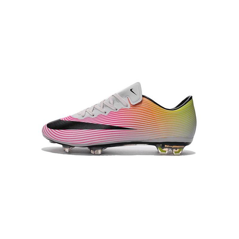 check-out 0cff9 c4405 2016 Crampons de Foot Nike Mercurial Vapor X FG Homme Blanc ...