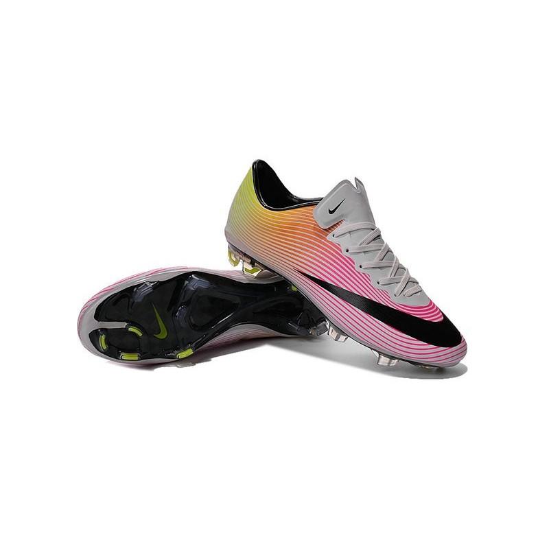 check out 47772 42eb8 2016 Crampons de Foot Nike Mercurial Vapor X FG Homme Blanc ...