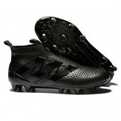 2016 Adidas Ace16+ Purecontrol FG/AG Chaussures de Football tout Noir