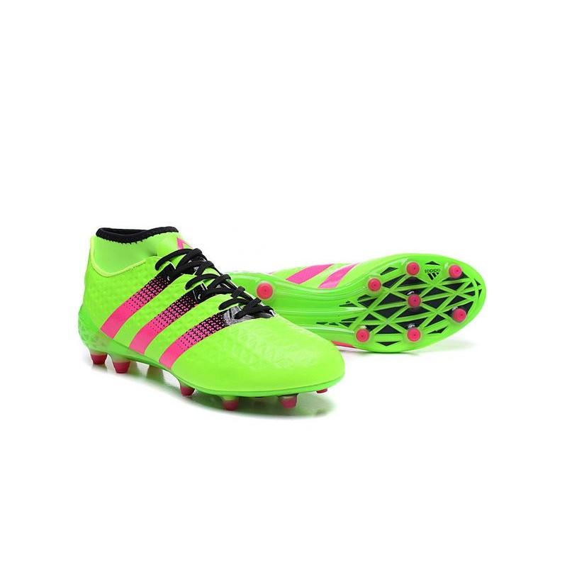Vert De Adidas Football Ace Chaussures Fgag Primeknit 1 Hommes 16 UHvzqfg