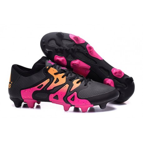 outlet store 84598 dd23c De Foot X Adidas Crampons Rose Chaussures 2016 Fg 1 15 Ag Hommes RxnwB6q