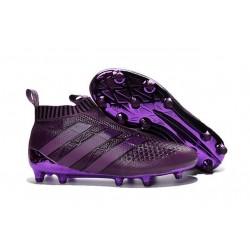 2016 Adidas Ace16+ Purecontrol FG/AG Chaussures de Football Violet
