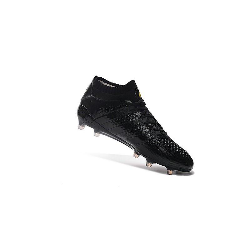 wholesale dealer 8aba3 288b2 Chaussures de Football Hommes - adidas ACE 16.1 Primeknit FGAG tout Noir