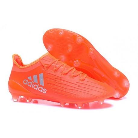 Nouvelles - Crampons pour Homme Adidas X 16.1 AG/FG Orange Argent