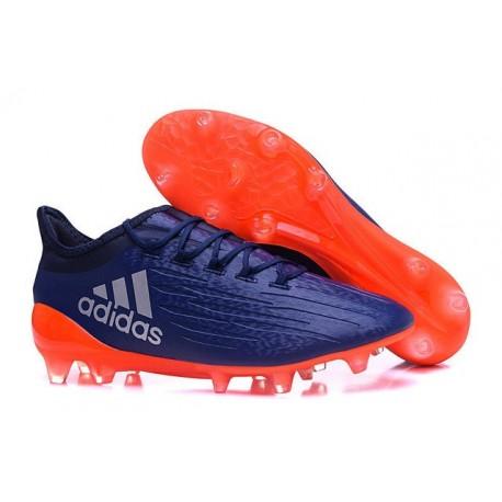 Nouvelles - Crampons pour Homme Adidas X 16.1 AG/FG Violet Orange
