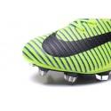Chaussures Football Mercurial Superfly V FG 2016 Crampons pour Homme Vert Bleu Noir