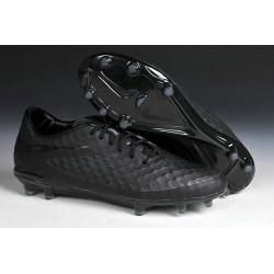 2014/2015 Chaussure de Football Nike Hypervenom Phantom FG Noir