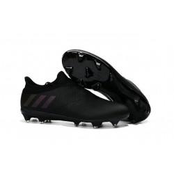 Adidas Messi 16+ Pureagility FG/AG Pas Cher Crampons foot Tout Noir