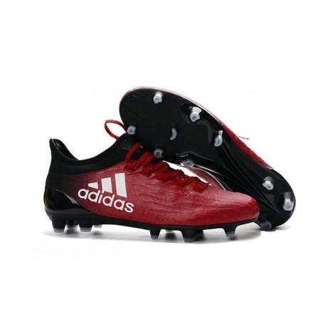 Nouvelles - Crampons pour Homme Adidas X 16.1 AG/FG Rouge Blanc Noir