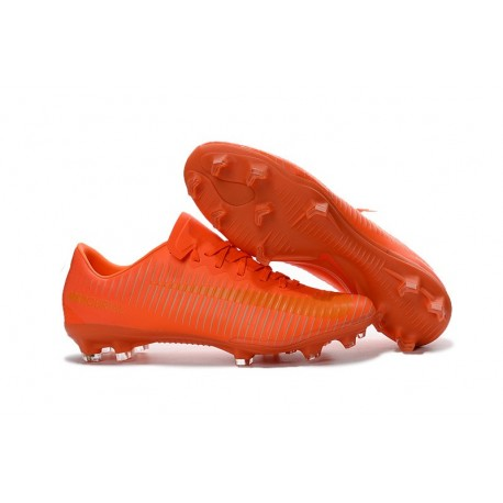 2016 Nike Mercurial Vapor 11 FG Crampons de Football pour Hommes Orange