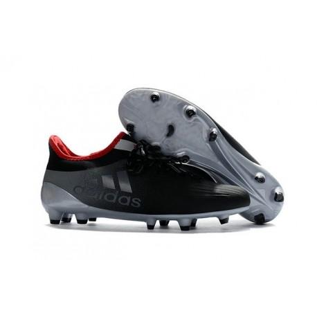 Nouvelles - Crampons pour Homme Adidas X 16.1 AG/FG Gris Noir