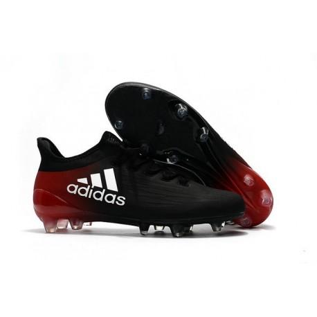 Nouvelles - Crampons pour Homme Adidas X 16.1 AG/FG Noir Blanc Rouge