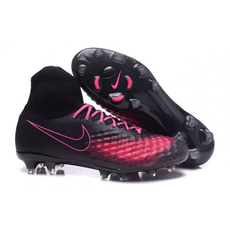 Nouvelles chaussures Nike Nike Magista Obra II FG Football Crampons Noir Rose