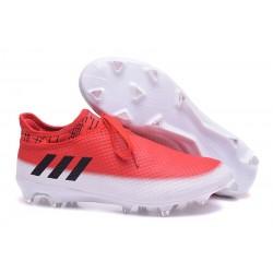 Nouvelles - Crampons Adidas Messi 16+ Pureagility FG/AG Blanc Noir Rouge