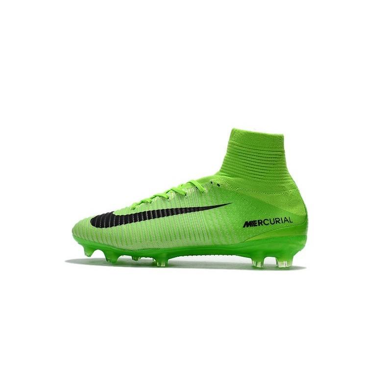 V Nike Nouveau Superfly Vert Foot Fg Mercurial De Chaussures wAvv7qxag