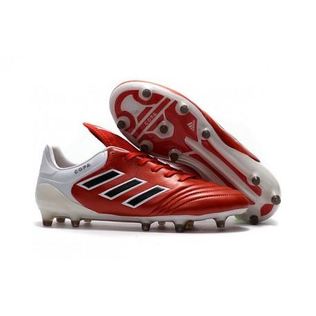 Crampon Foot 2017 - Adidas Copa 17.1 FG Pas Cher Noir Blanc Rouge