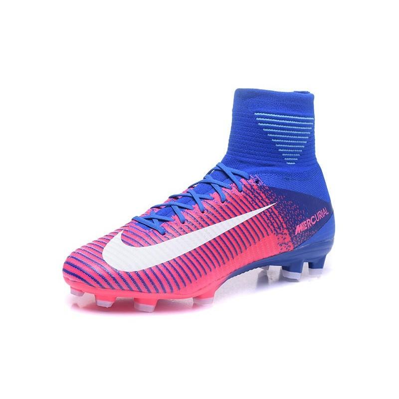 pas mal 4a025 d611d 2017 Nouveau Chaussures de Football Mercurial Superfly V FG ...