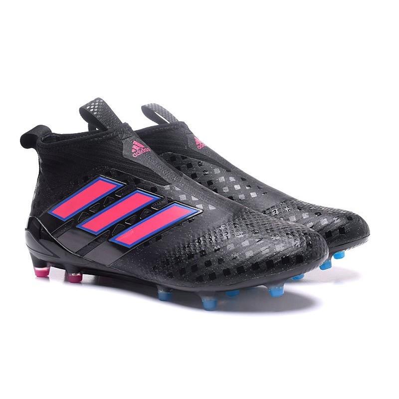 new concept 6b208 429ad Purecontrol Rose Ace17 Adidas Foot De Fg Bleu Chaussure Nouveau Noir E7Aqwg