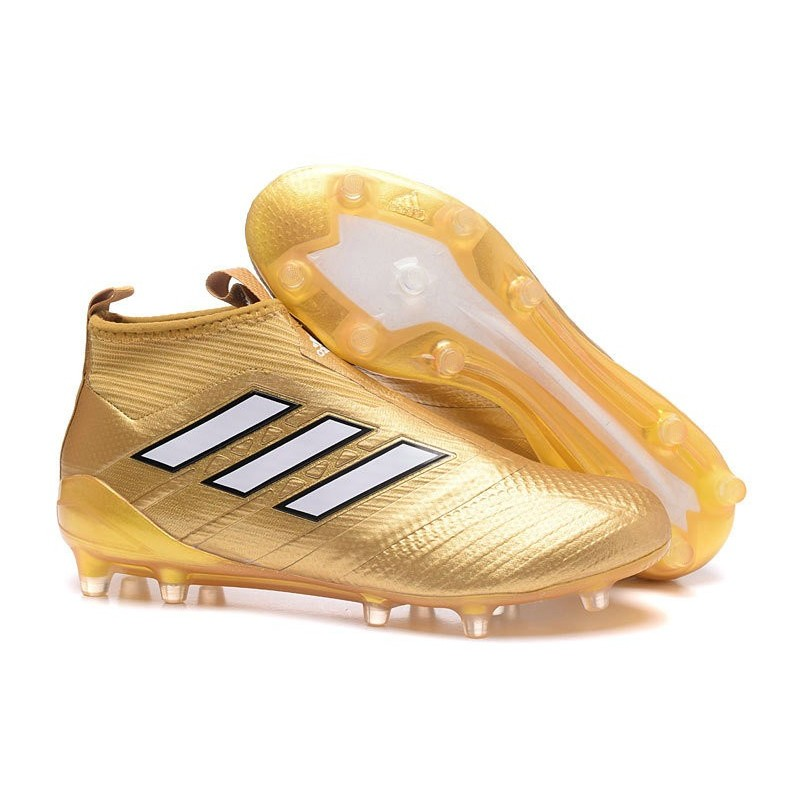 new product 9e311 8b06a Chaussure Adidas Ace 17 Purecontrol FG Crampons Foot Pas Che