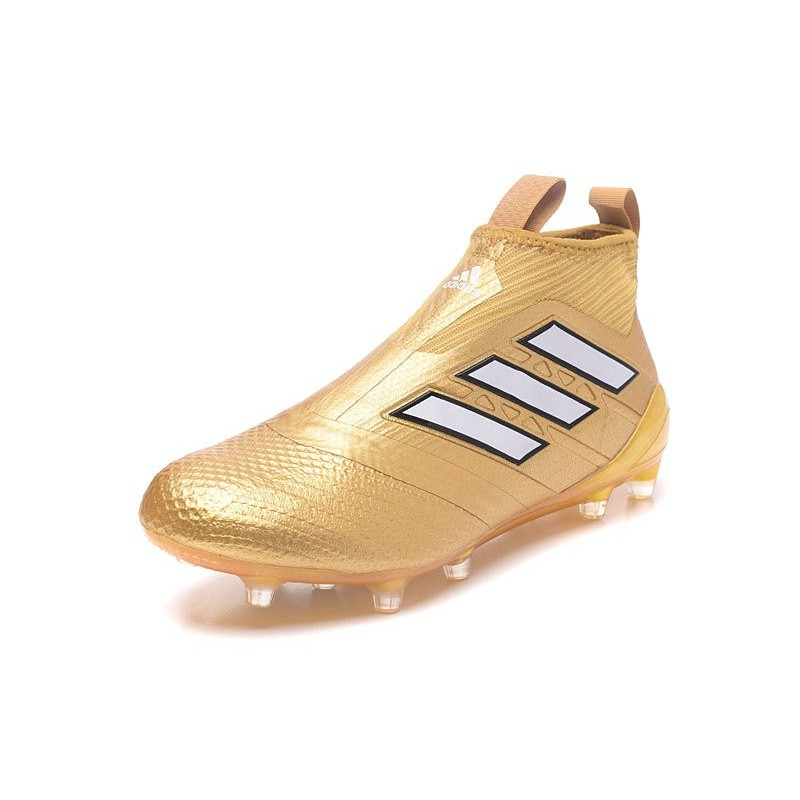 Chaussure Adidas Ace 17 Purecontrol FG Crampons Foot Pas