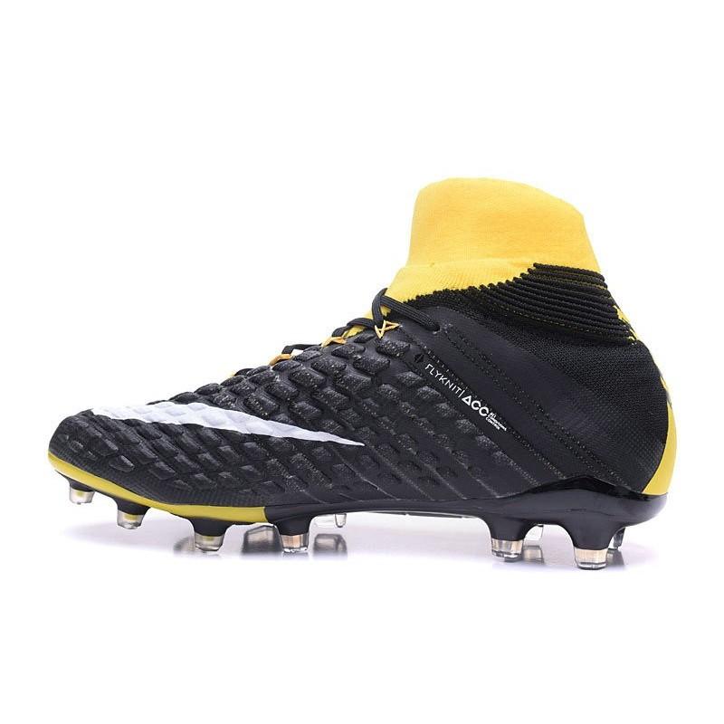 Foot Hypervenom 3 De Pas Homme Nike Jaune Cher Pour Chaussure Noir 1lJFKTc