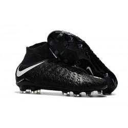 Nouvelle Crampon de Foot  Nike HyperVenom Phantom III FG Noir Blanc
