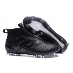 Crampons Adidas ACE 17+ Purecontrol FG 2017 Chaussure de Foot Pour Homme - Pure Noir