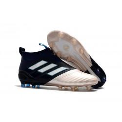 Nouveau Adidas ACE 17+ Purecontrol FG Chaussure de Foot Kith Or Noir Blanc