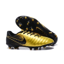 Nike Tiempo Legend VII FG - Chaussures Nike 2017 Or Noir