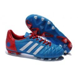 Nouveau Crampons Adidas Adipure 11Pro TRX FG Homme Bleu Blanc Rouge